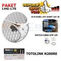 Paket Hotspot LTE 4G RB LHG-LTE Kit + WIFI Router Indoor - EdcComp