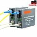 Paket Fiber Optic 50M Siap Pakai 1 Link Media Converter - EdcComp