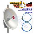 Mikrotik MTAD-5G-30D3-PA mANT30 Antenna Dish 5Ghz 30dBi - EdcComp