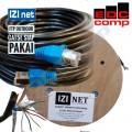 Cable STP/FTP Cat 5e Outdoor Cable 15 Meter IZI net Original - EdcComp