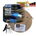 Cable STP/FTP Cat 5e Outdoor Cable 10 Meter IZI net Original - EdcComp