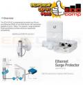 Ubiquiti ETH-SP GEN2 Ethernet Surge Protector UTP LAN Outdoor - EdcComp