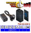 UBIQUITI POE-48-24W-G - POE 48V 0.5A GIGABIT - EdcComp