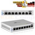 Ubiquiti unifi switch 8 port non poe US-8 - EdcComp