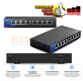 Linksys LGS108 8-Port Business Desktop Gigabit Switch/LGS108AP - EdcComp