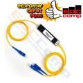 Fiber Optic Passive Splitter 1:2 SC/UPC FTTH PLC Splitter 1-2 SC - EdcComp