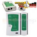 Kabel Lan Tester - Kabel RJ45/RJ11 Tester - EdcComp