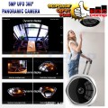 UFO Panoramic 360º HD 5MP Wifi IP Camera Wireless - EdcComp