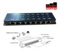 Passive POE Injector 8 Port - EdcComp