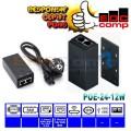UBNT UBIQUITI POE-24-12W / POE 24V 0.5A POE Adaptor - EdcComp