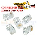 Connector IZINET RJ45 UTP Cat5e - EdcComp