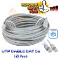 UTP Cable IZINET Cat5E 10 Meter - EdcComp