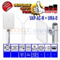 Paket Ubiquiti Unifi Ac Mesh UAP-AC-M + UMA-D Antenna Dual Band - EdcComp