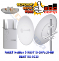 Paket MikroTik NetBox 5 / RB911G-5HPacD-NB + RD-5G30 - EdcComp