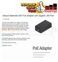 Ubiquiti UBNT POE-50-60W Poe Adapter With Gigabit Lan Port - EdcComp