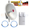 PAKET Mikrotik RB911G-5HPacD-NB Netbox 5 & MTAD-5G-30D3 mANT30 - EdcComp