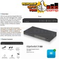Ubiquiti EdgeSwitch Lite ES-24-LITE , 24Port Gigabit+2 SFP Switch - EdcComp