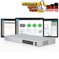 Ubiquiti Unifi Switch 16 Port POE 150W US-16-150W - EdcComp