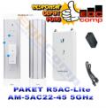 Paket Ubiquiti AP Rocket 5AC + AM-5AC22-45 / R5AC Lite + AM-5AC22 - EdcComp