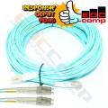 OM3 Duplex LC Fiber Optic Patch Cords/OM3 Fiber Optic Patch - EdcComp