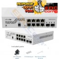 Mikrotik CSS610-8G-2S+IN Cloud Smart Switch 610-8G-2S+IN - EdcComp