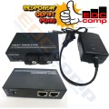 Ethernet Fiber Switch 2 SC 2 LAN /Media Converter Switch FO 2 SC - EdcComp