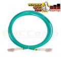 OM3 Duplex LC Fiber Optic Patch Cords 3M - EdcComp