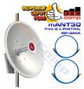 Mikrotik MTAD-5G-30D3 mANT30 Antenna Dish 5Ghz 30dBi - EdcComp