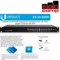 Ubiquiti EdgeSwitch 24Port Gigabit Poe ES-24-500W - EdcComp