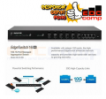 UBIQUITI ES-16-XG Edge Switch 10 port SFP Plus 10G - 4 port RJ45 - EdcComp