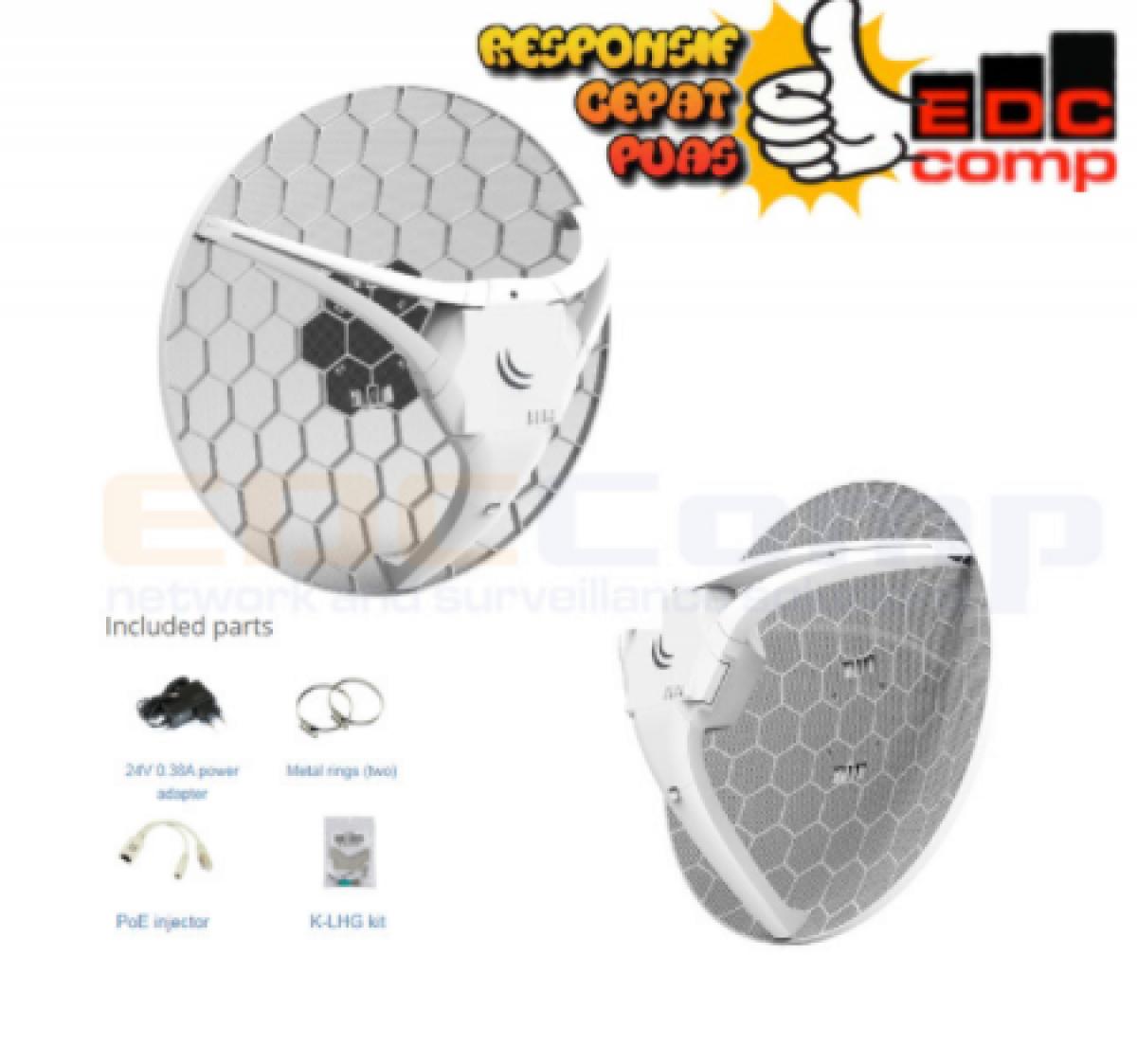 Mikrotik RBLHG LTE Kit RBLHGR&R11e-LTE - EdcComp