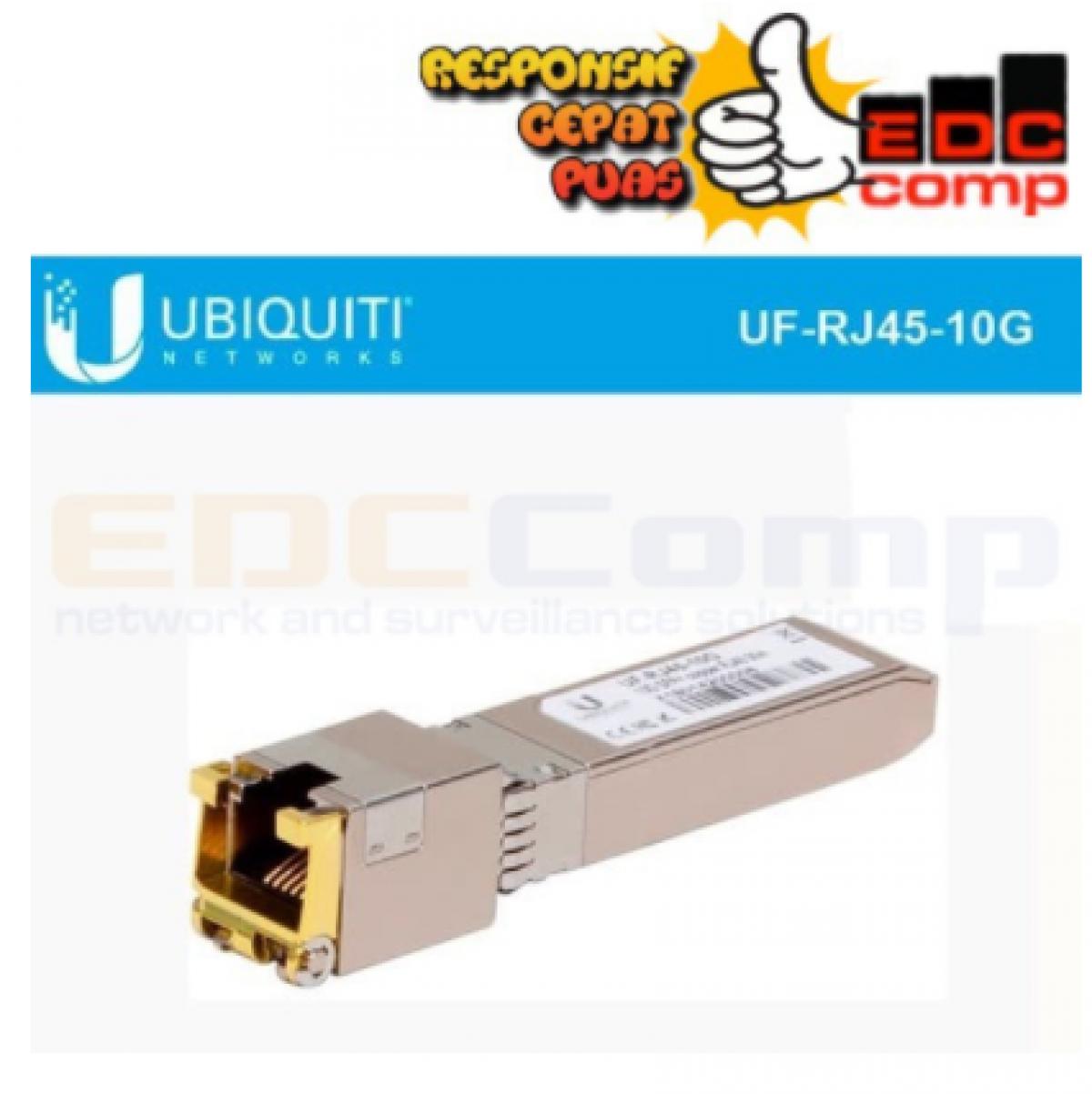 Ubiquiti 10Gbps SFP RJ45 Transceiver UF-RJ45-10G - EdcComp