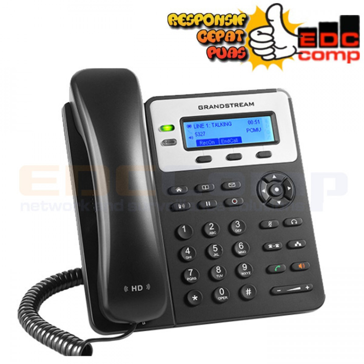 Grandstream GXP1625 IP Phone - IP Phone GXP1625 Grandstream - EdcComp