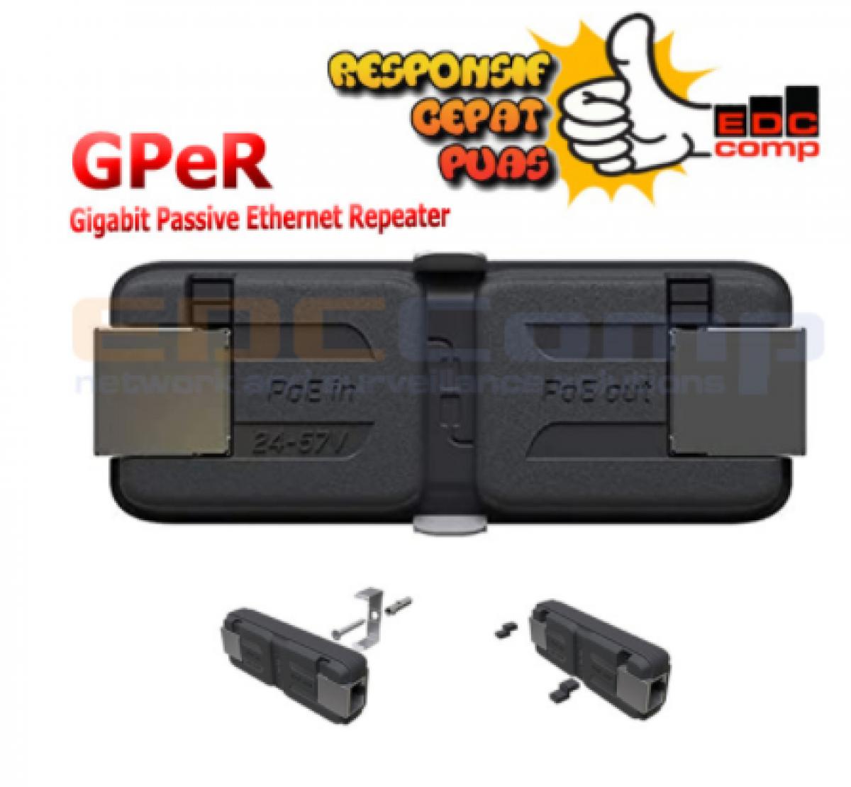 Mikrotik GPER Gigabit Passive Ethernet Repeater - EdcComp