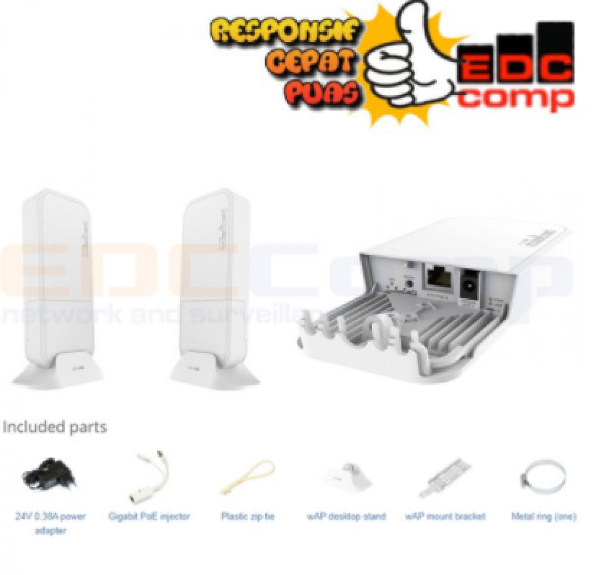 Mikrotik wireless wire RBwAPG-60adkit - EdcComp