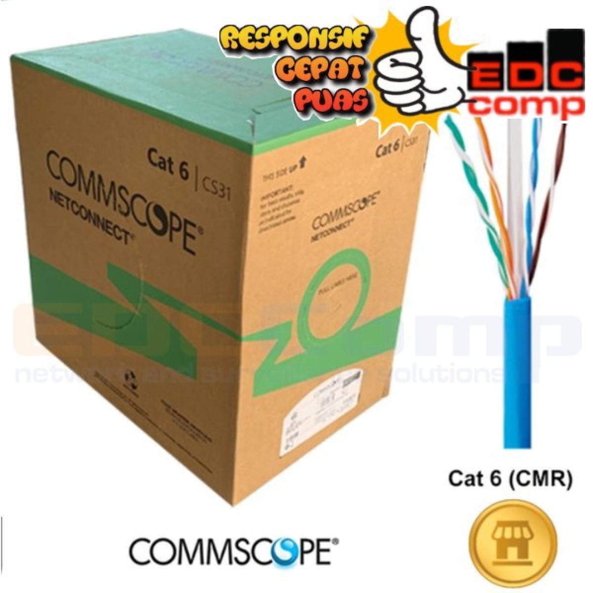 Commscope/AMP UTP Cat 6 UTP Cable Data Cat 6 AMP Original - EdcComp