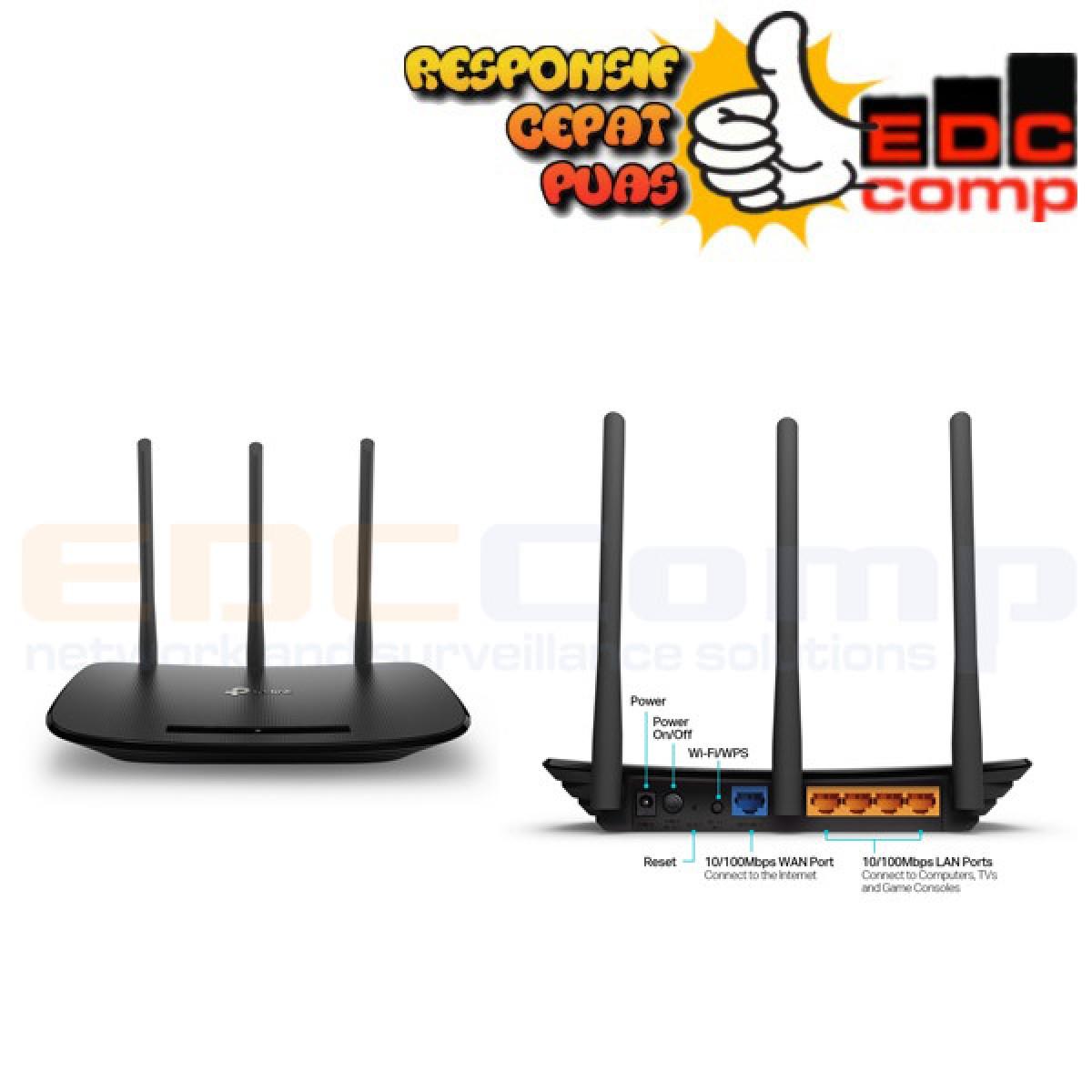 TP-LINK TL-WR940N 450 Mbps Wireless N Router TPLINK TP LINK - EdcComp