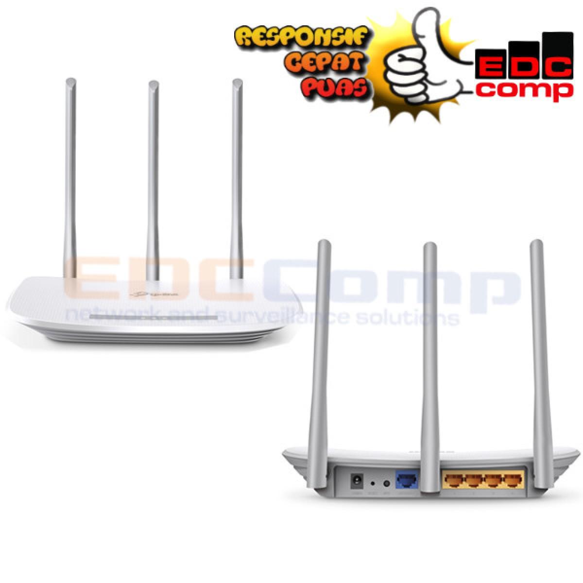 TP-LINK TL-WR845N / TL WR845N (3 Antena) 300MBps Wireless Router - EdcComp