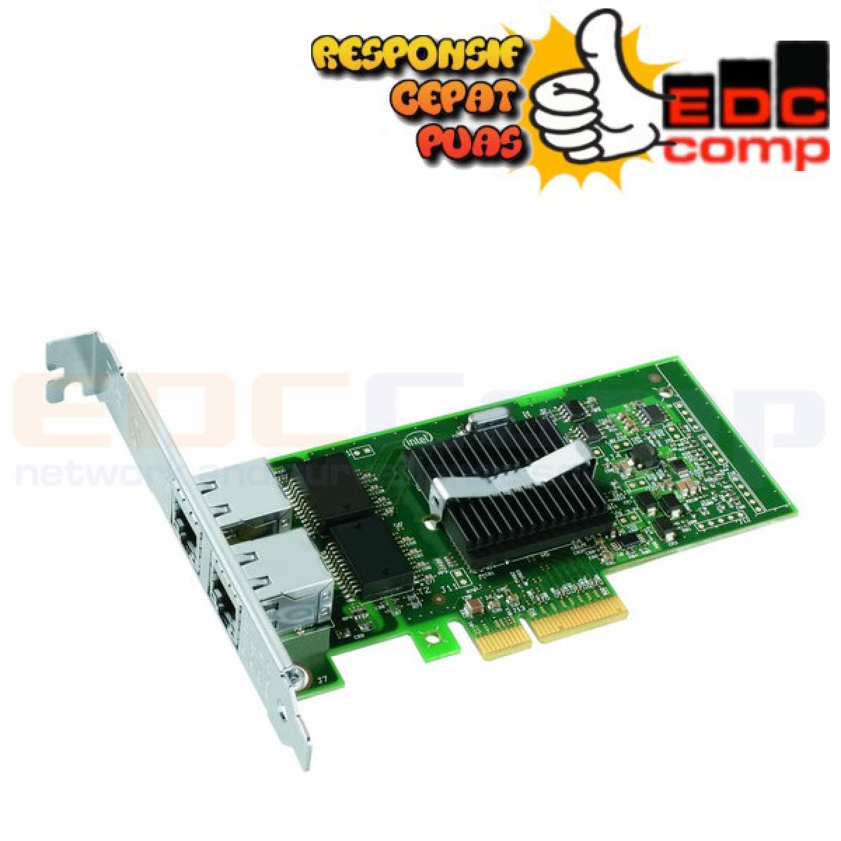 Intel Pro 1000 PT Dual Port - NIC - Server Adapter - EdcComp