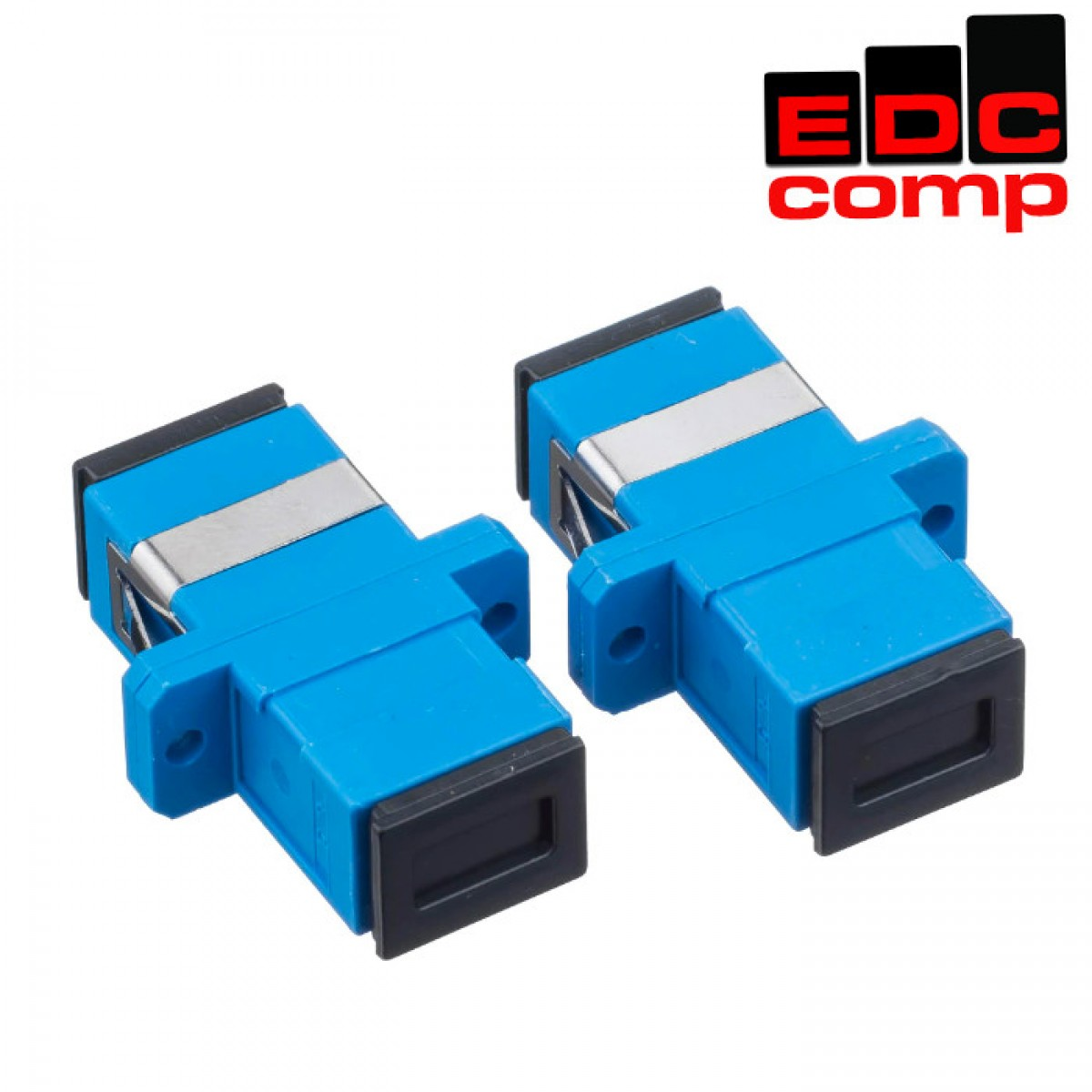 Coupler SC Fiber Optic SC/UPC Fiber Converter - EdcComp