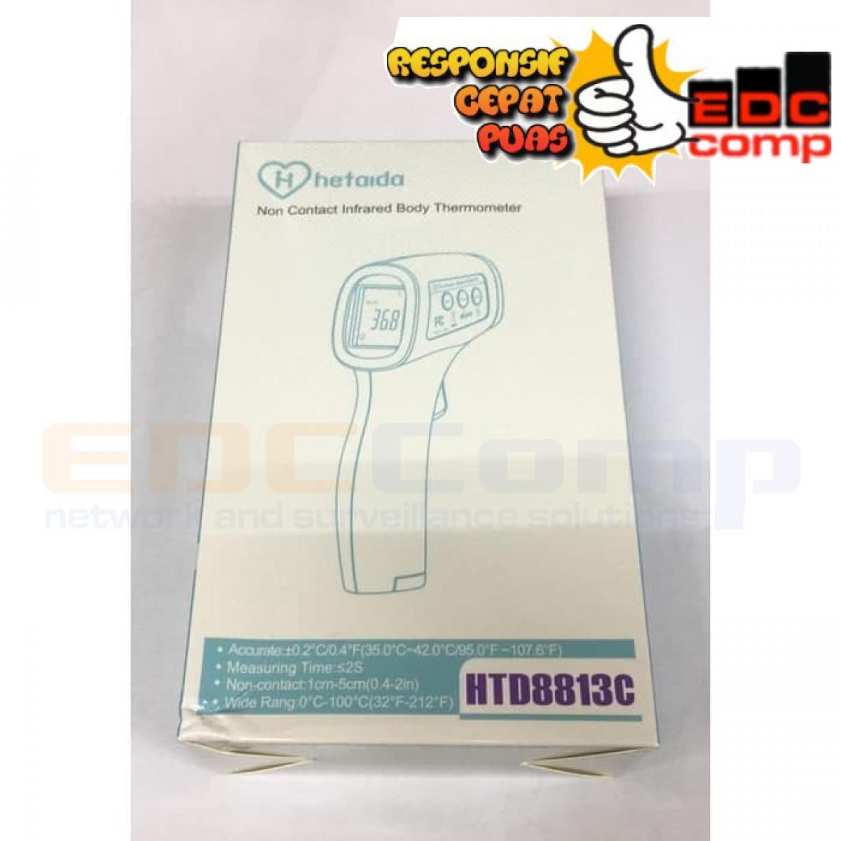 Termometer Infrared Body Hetaida HTD8813C - EdcComp