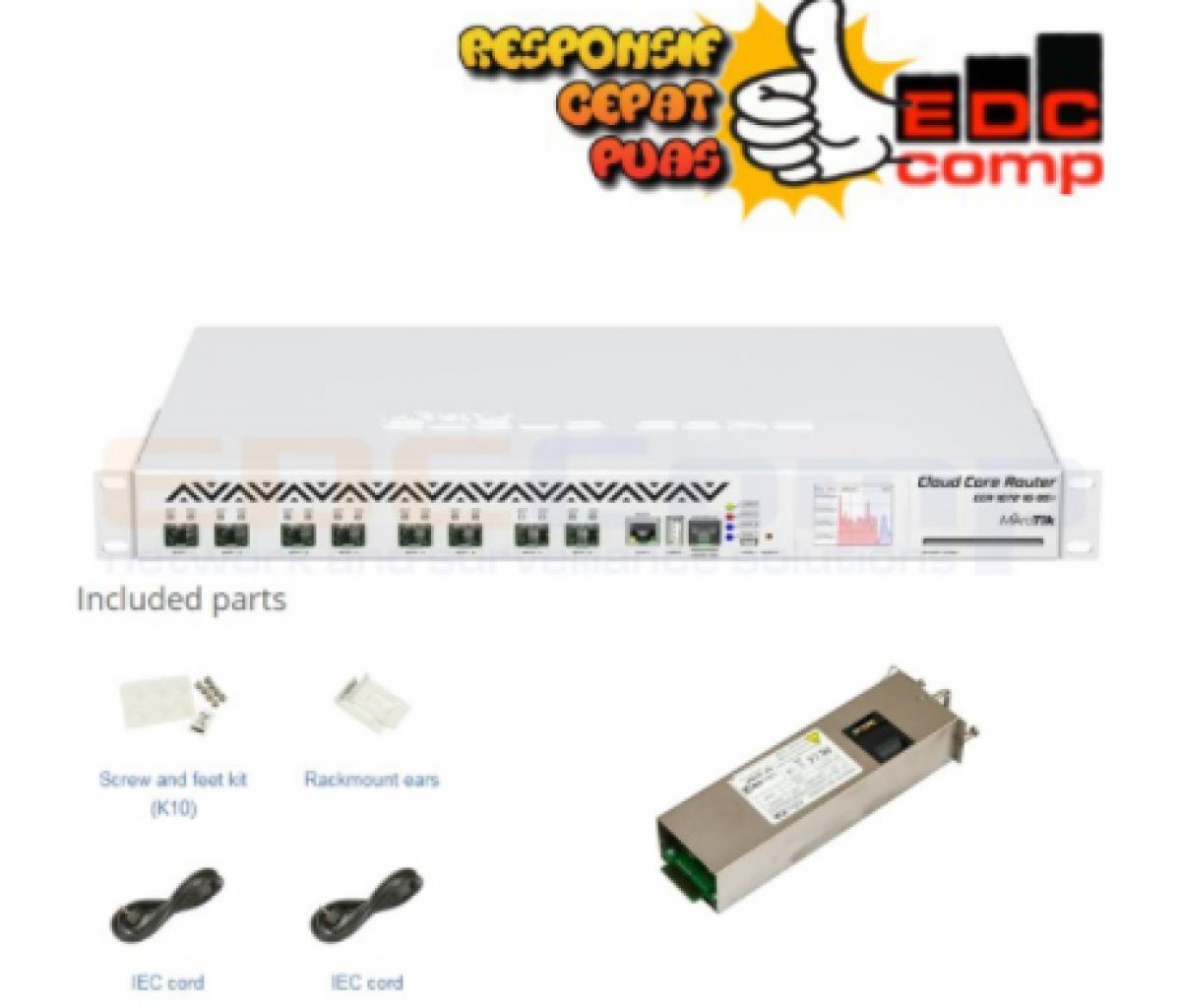 MikroTik CCR1072-1G-8S+ - EdcComp