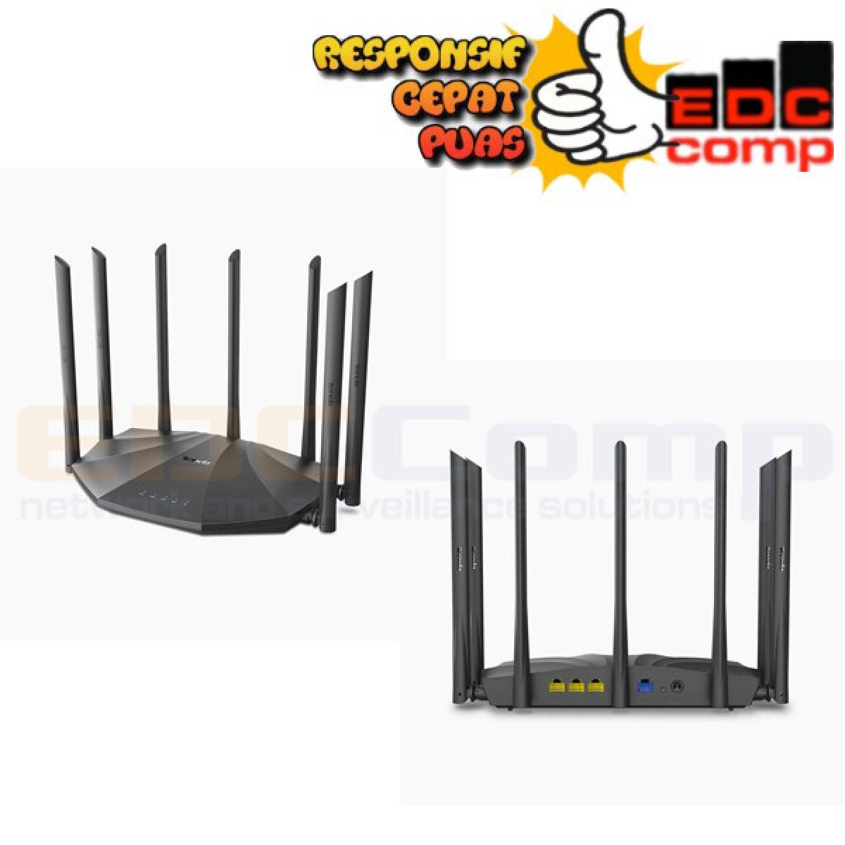 Wireless Router Dual Band Gigabit WiFi Router Tenda AC23 - EdcComp