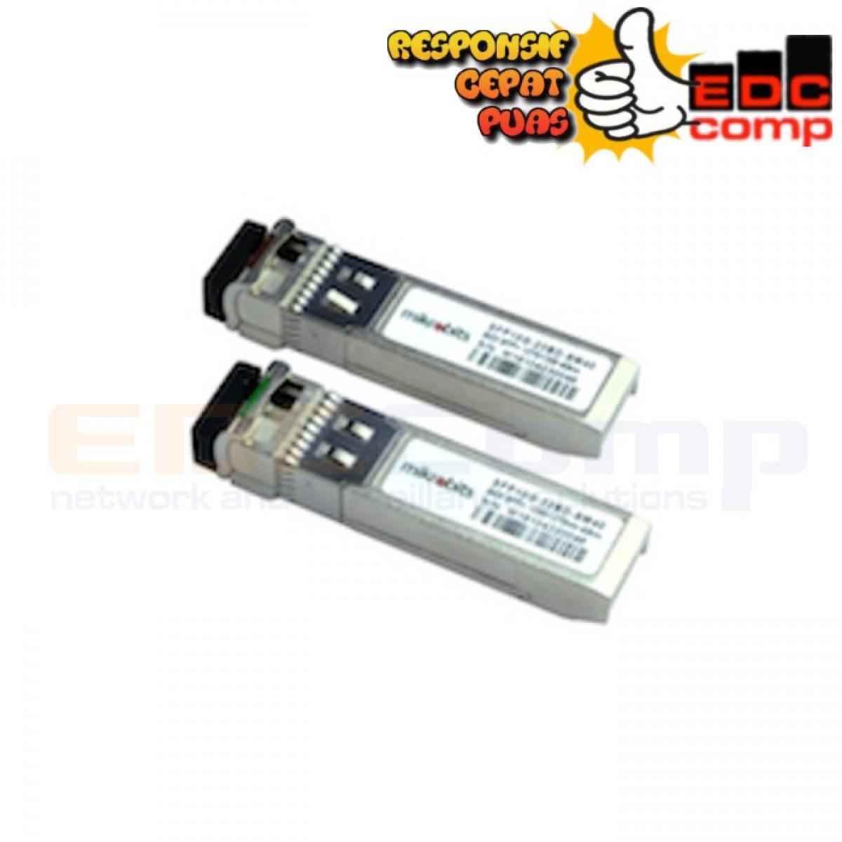 Mikrobits SFP Transceiver SFP-10G-BD-SM-20KM - EdcComp