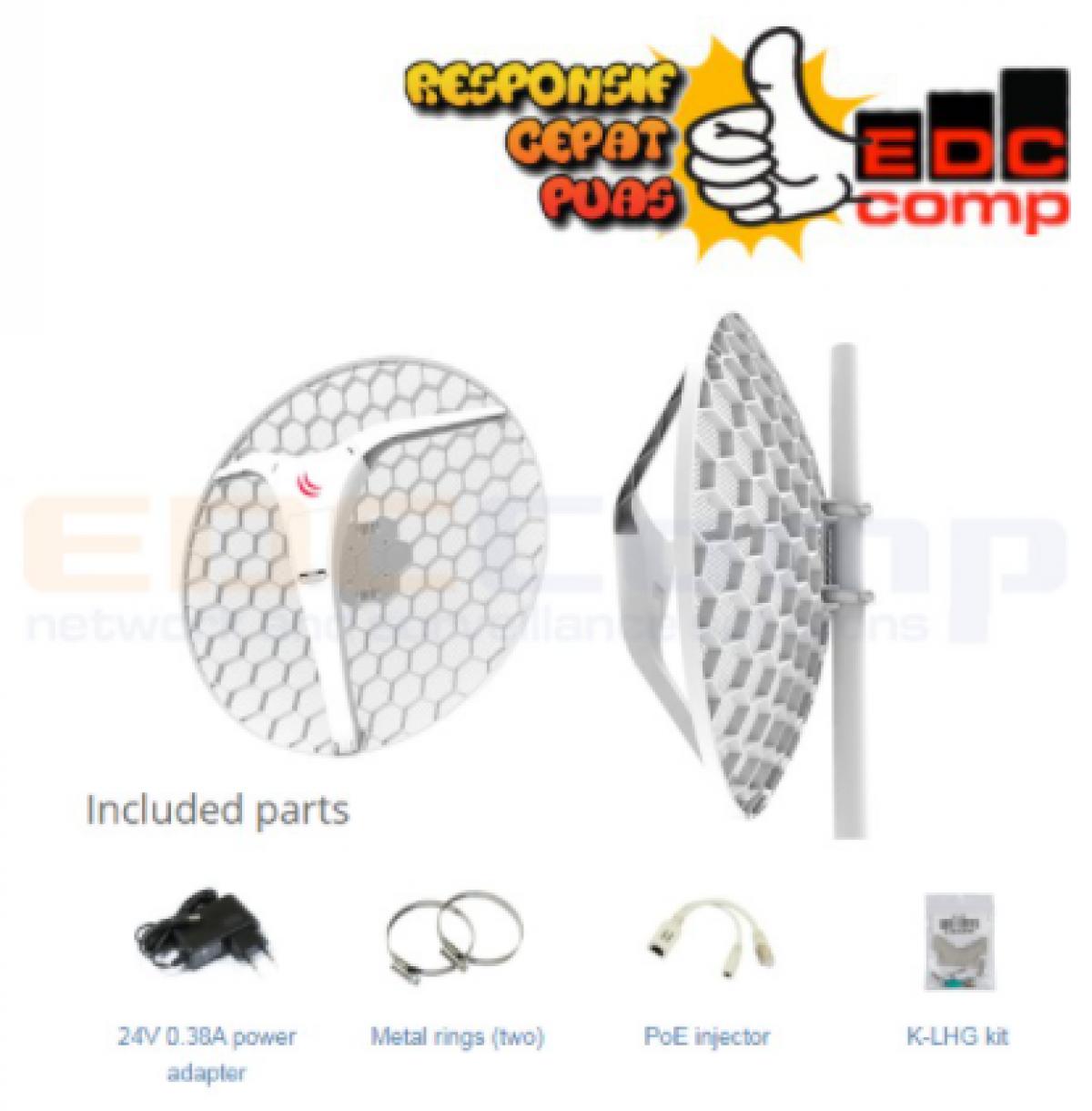 Mikrotik Embedded Wireless RBLHG-2nD-XL - EdcComp