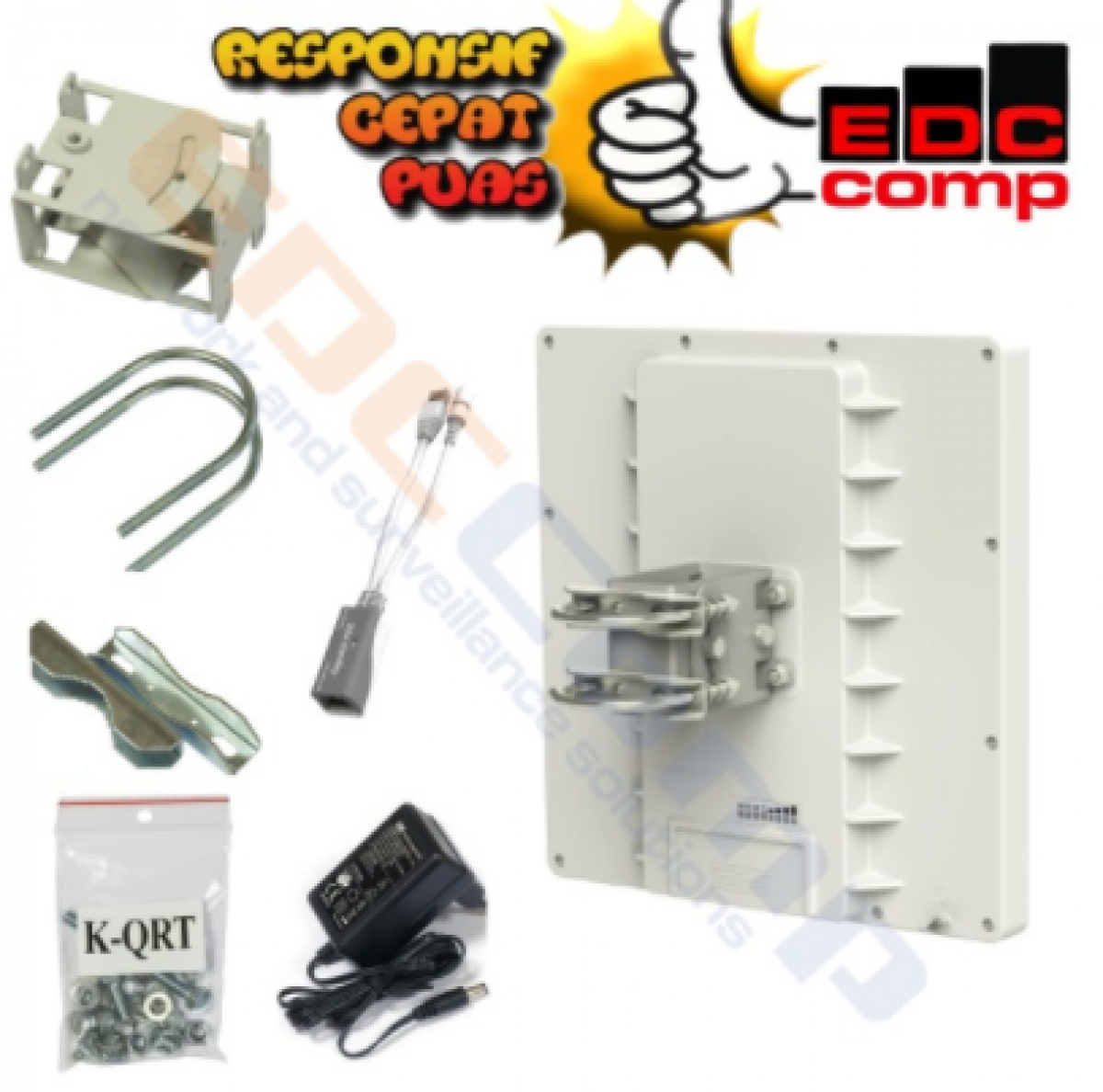 Mikrotik RB911G-5HPnD-QRT QRT-5 - EdcComp