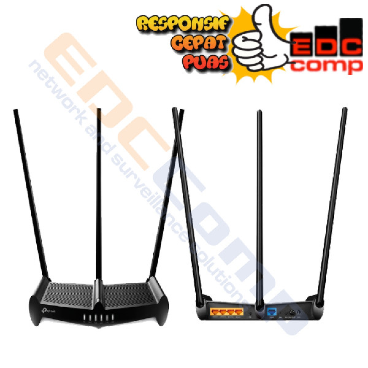TP-LINK TL-WR941HP 450 Mbps High Power Wireless N Router TP LINK - EdcComp