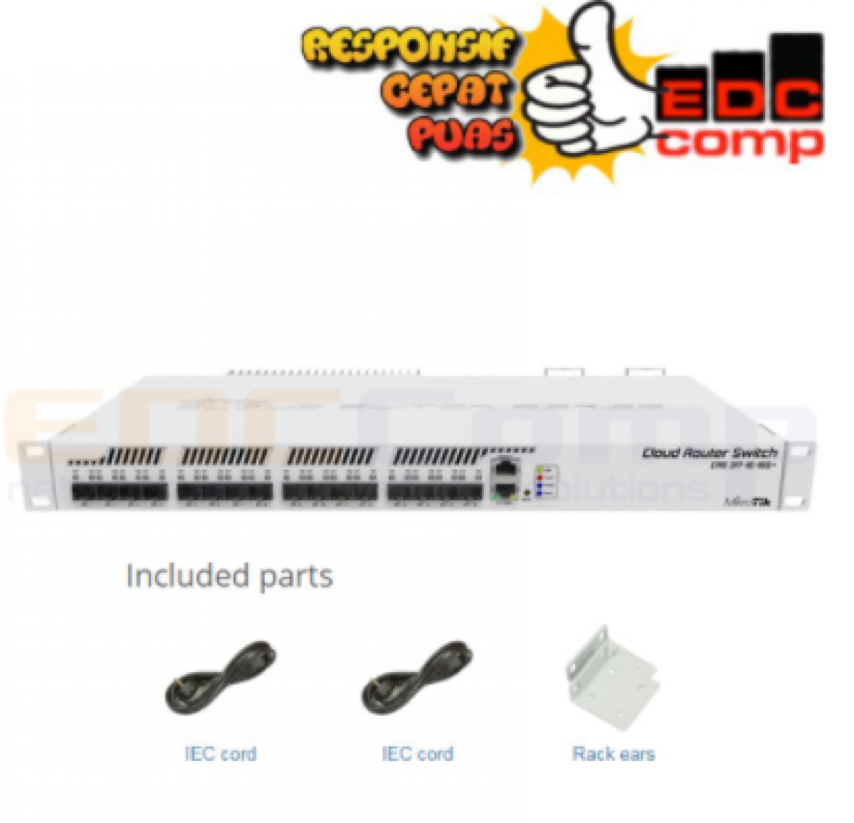 Routerboard CRS317-1G-16S+RM - EdcComp