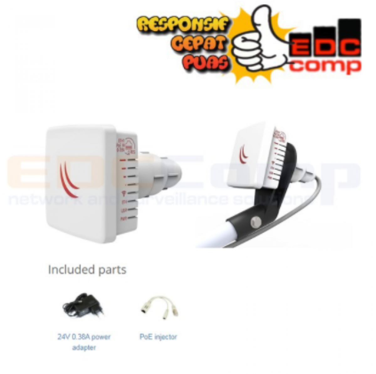 Mikrotik RBLDF-5nD LDF 5ND RBLDF5nD Embedded Wireless - EdcComp