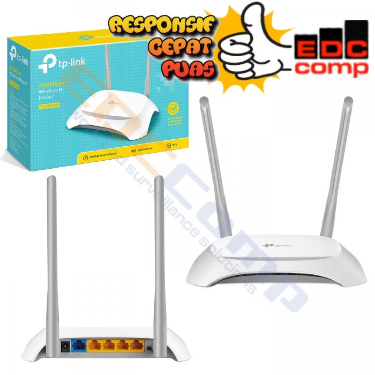 TP-LINK TL-WR840N / TL WR840N (V2) (Antena) 300MBps - EdcComp
